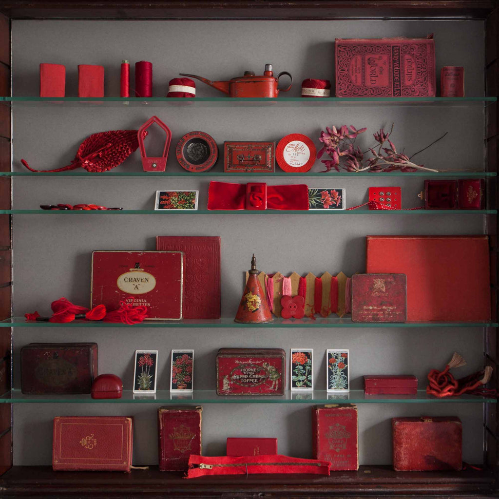 Catherine Hills Jewellery Ruby cabinet