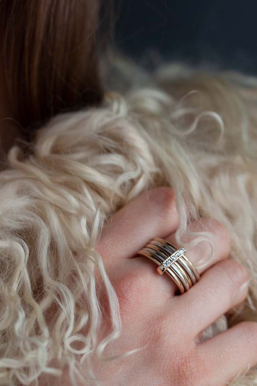 Catherine Hills Jewellery commission - regard ring