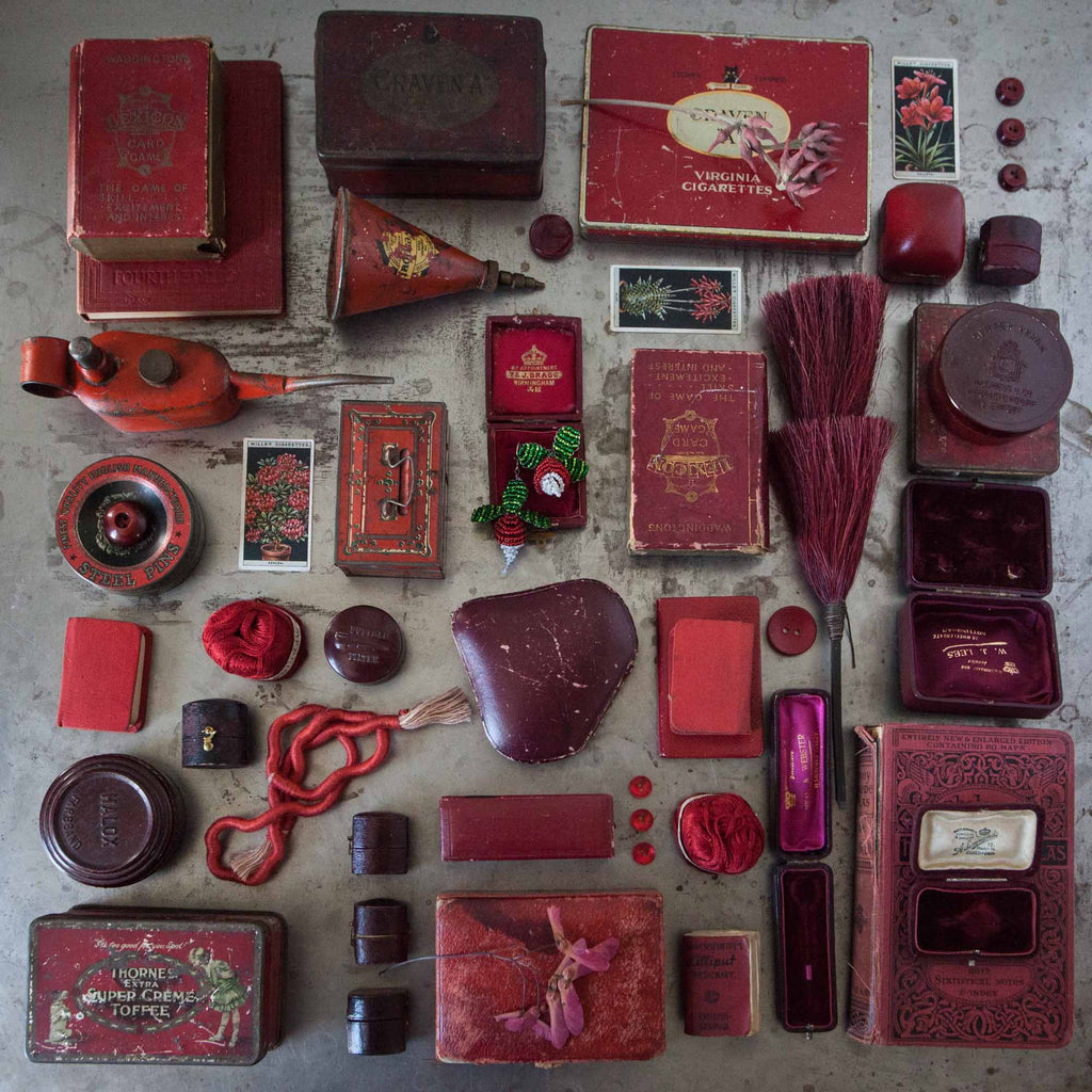 Catherine Hills Jewellery red vintage collection