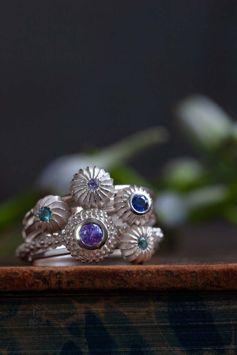 Catherine Hills Jewellery commission - stacking rings