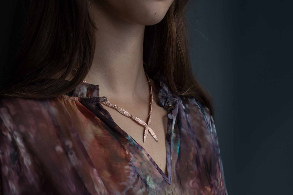 Catherine Hills Jewellery Petal necklace