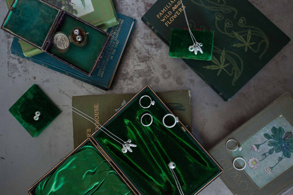 Catherine Hills Jewellery: Emerald collection