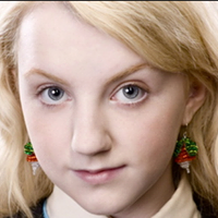 Catherine Hills, Harry Potter jewellery commission, Luna Lovegood, radish earrings