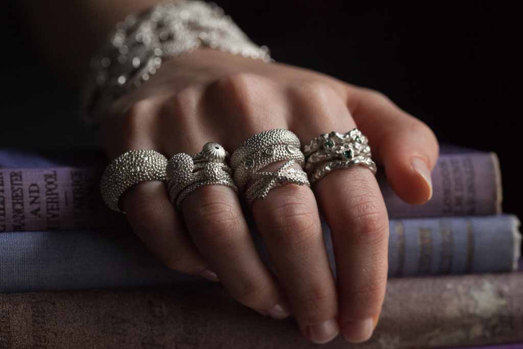 Catherine Hills Jewellery - loads of rings