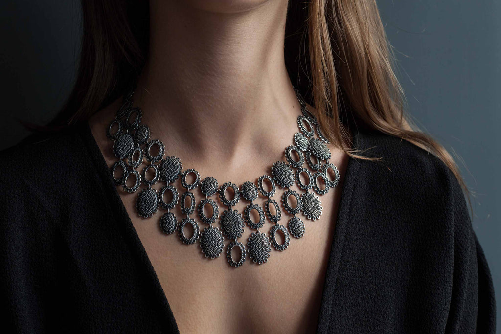 Catherine Hills Jewellery Baroque Collar necklace