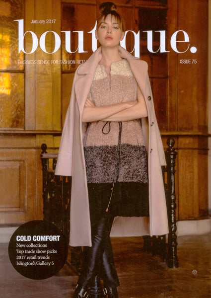Boutique magazine, Catherine Hills