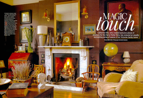 Period Living magazine, Catherine Hills