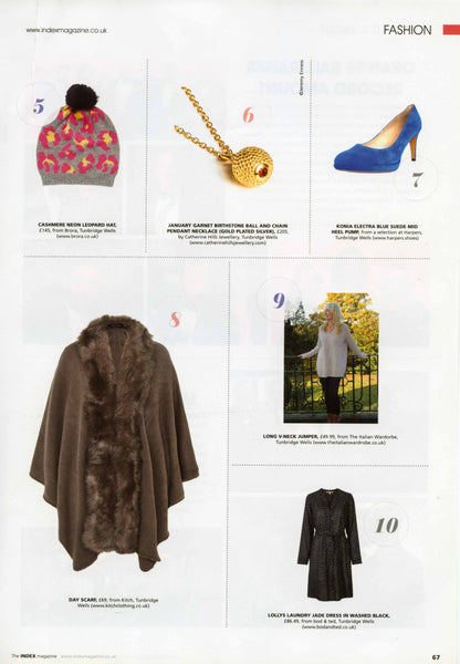Index magazine, Catherine Hills Jewellery