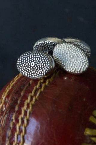 Snake Eye Chain Link Cufflinks