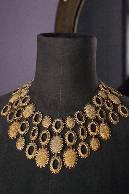 Medium Baroque Collar Necklace