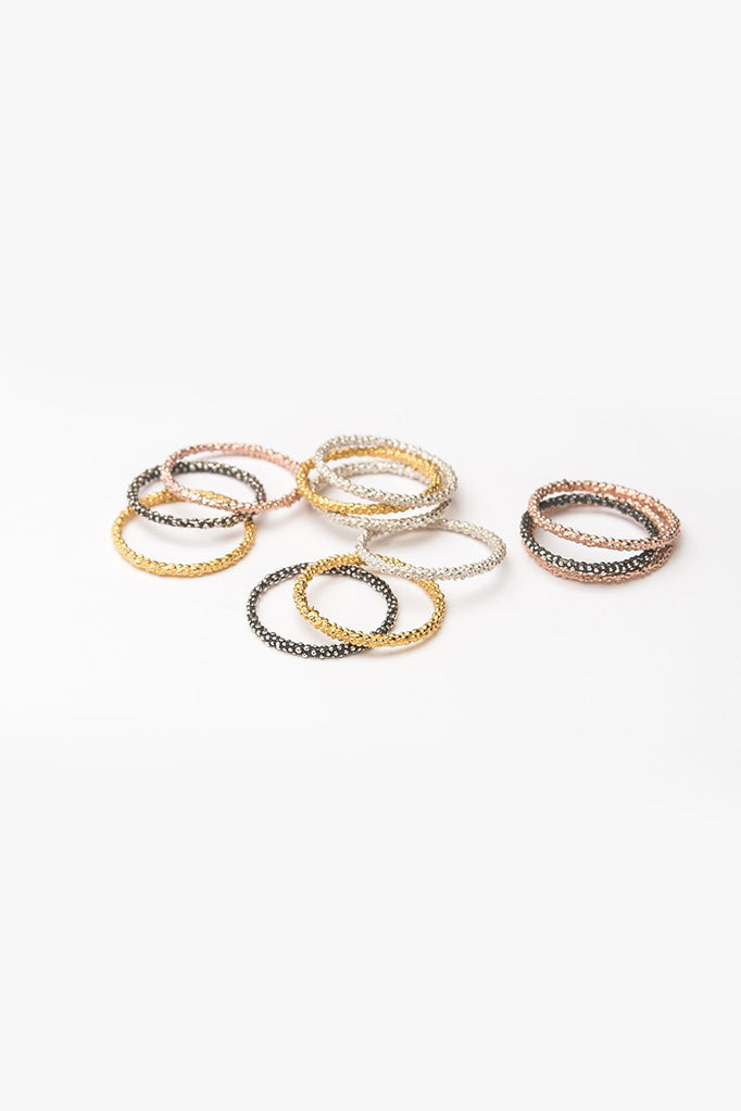 handmade stacking ring stacking contemporary stacking ring tunbridge wells textured rings