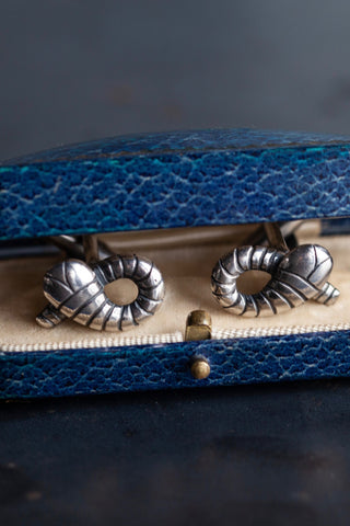 Snake Cufflinks with T Bar
