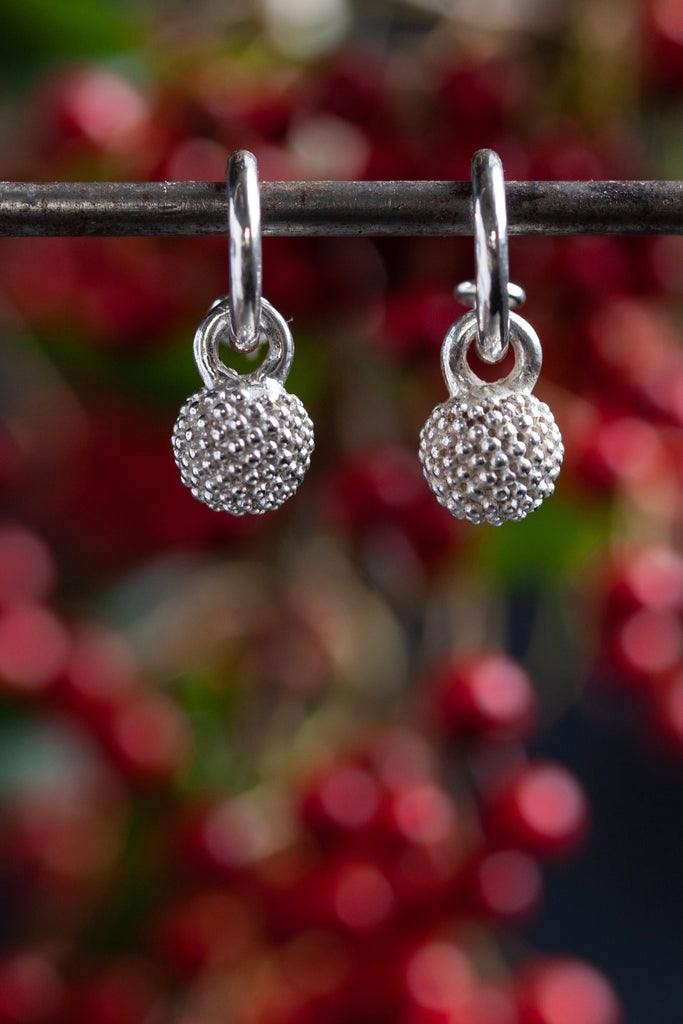 Mimosa Ball Drop Earrings