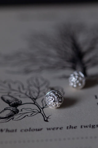 Acorn Cup Stud Earrings