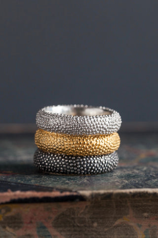Spotted Band Ring