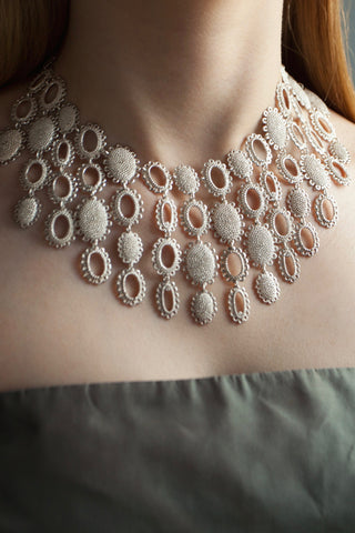 Large Baroque Collar Necklace