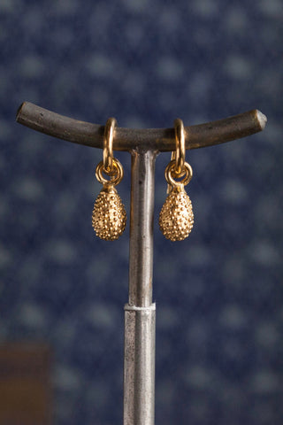 Spotted Teardrop Drop Earrings