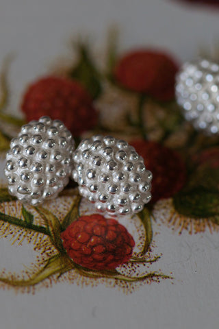 Raspberry Chain Link Cufflinks