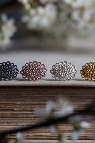 Small Baroque Stud Earrings
