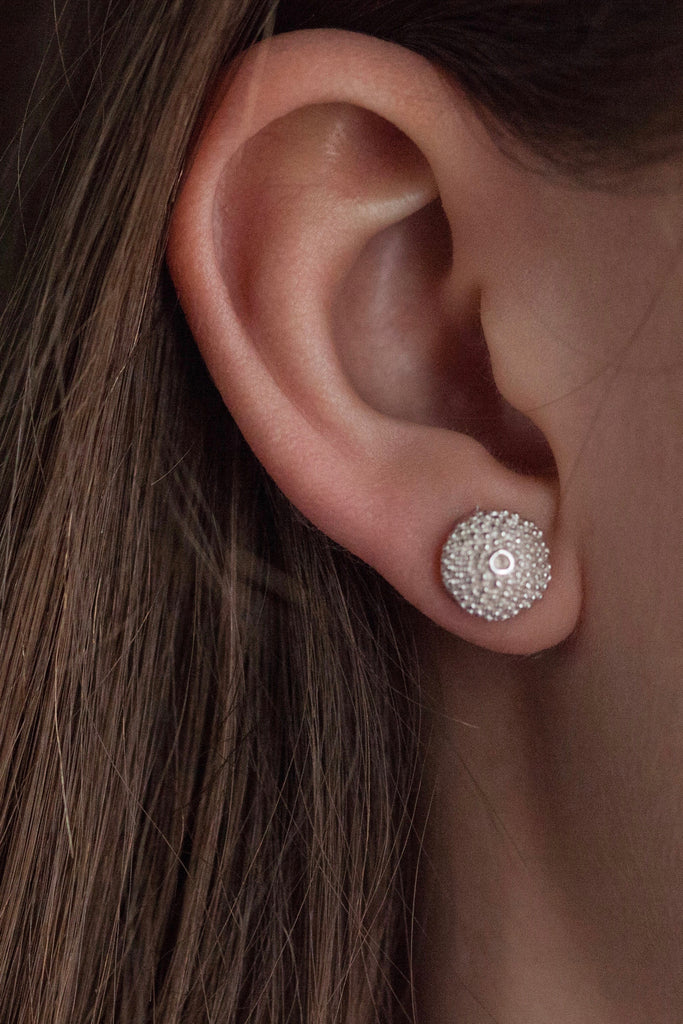 Bobbled Pollen Stud Earrings