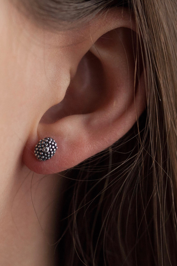 Snake Eye Stud Earrings