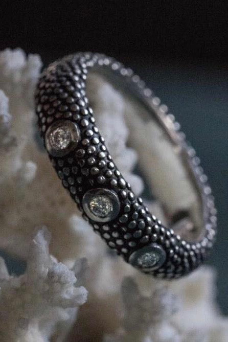 Octopus Diamond Ring