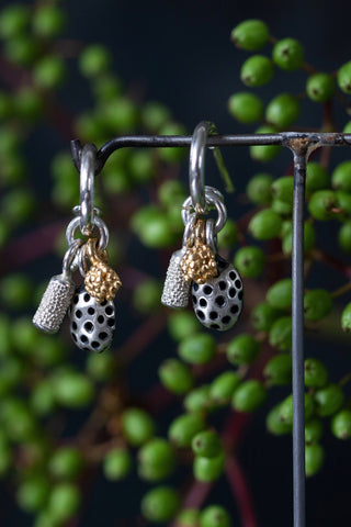 Trio Pod Drop Earrings
