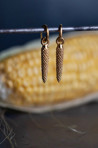 Corn Drop Earrings