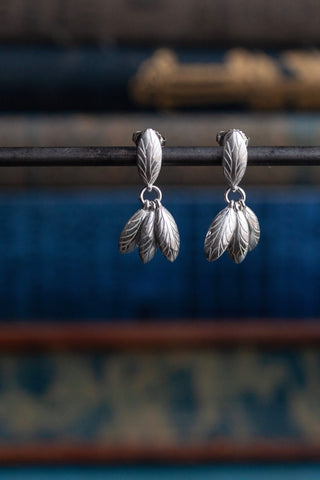 Bees Wing Drop Earrings