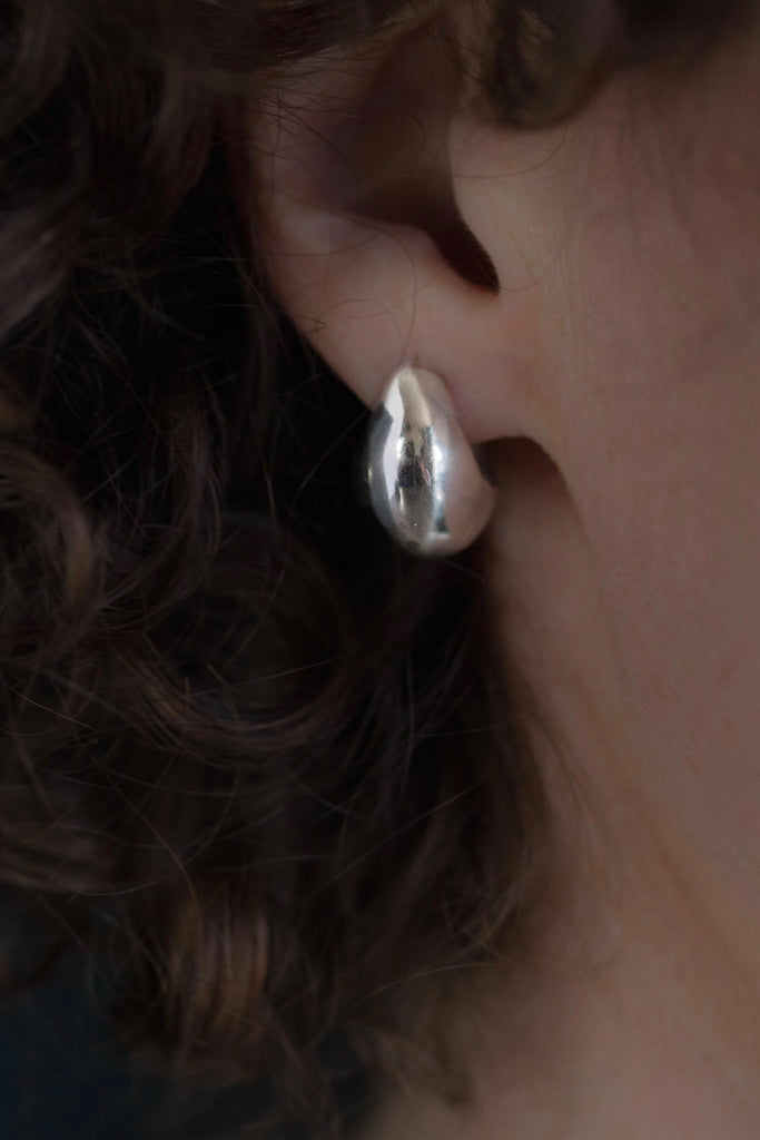 Silver Cup Earrings as seen on Star Wars Solo