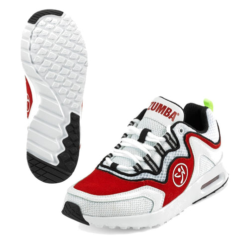 Zumba Air Lo - Red (size 9.5 - only 1 left)