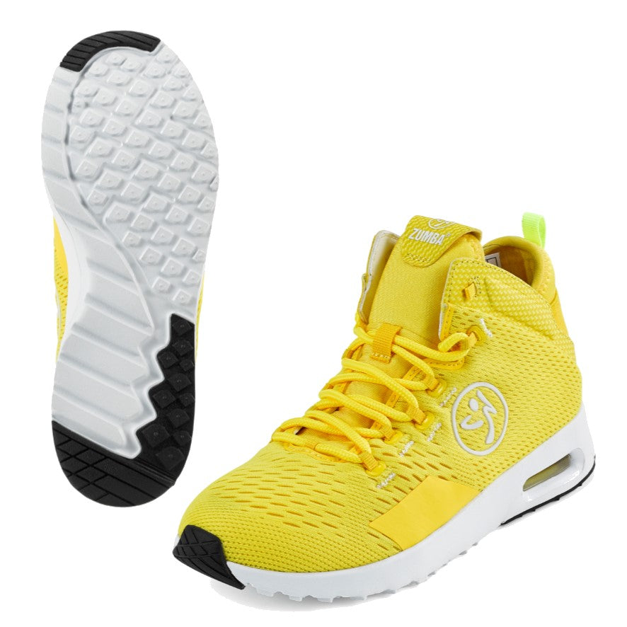 Zumba Air Funk - Yellow (size 11 - only 1 left)