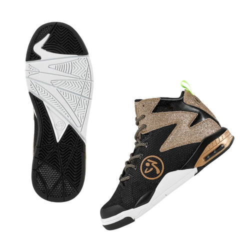 Zumba Air Shimmer - Gold (size 6.5)