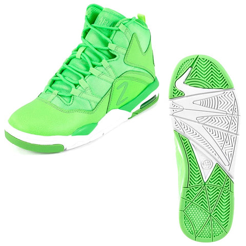 Zumba Air High - Green (size 7, 8)