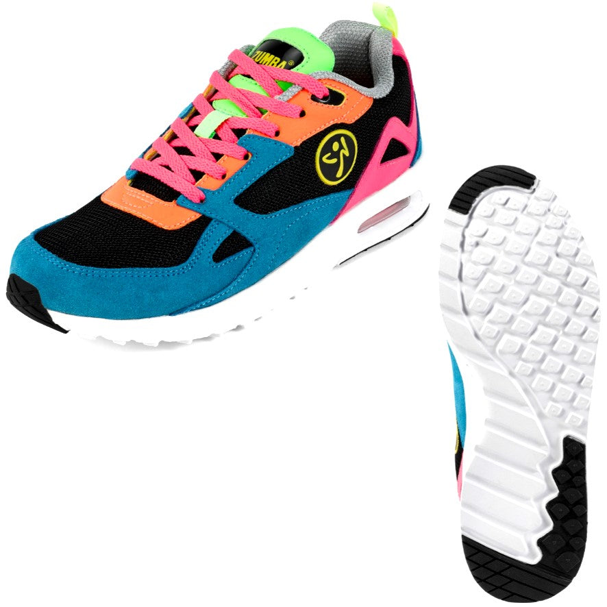 Zumba Air Lo - Multi (size 6.5)