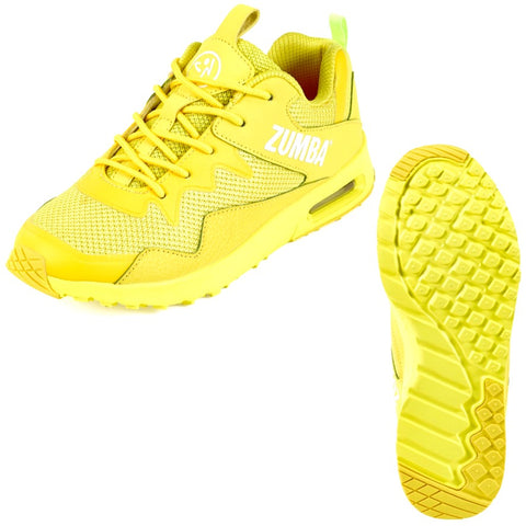Zumba Air Lo - Yellow (size 7, 7.5)