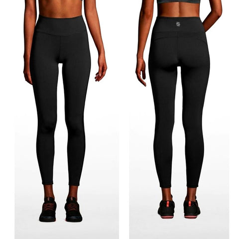 Active High Waisted Side Panel Leggings (Pre-Order)
