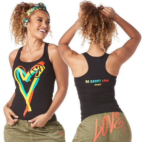 Be About Love Racerback (size L)