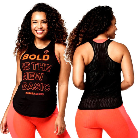 Bold Is The New Basic Tank (size S, M, XXL)