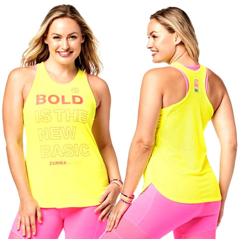 Bold Is The New Basic Tank (size M, L)