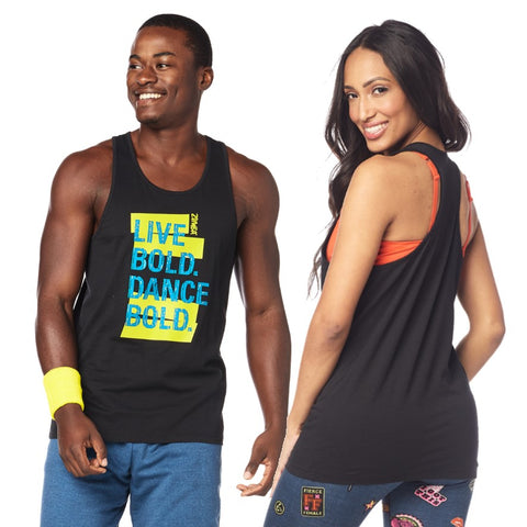 Dance Bold Mens Tank (sizes S, M & L)