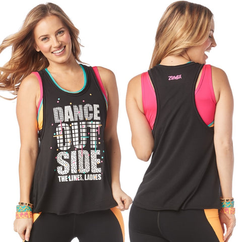 Dance Outside Loose Tank (sizes S, L)