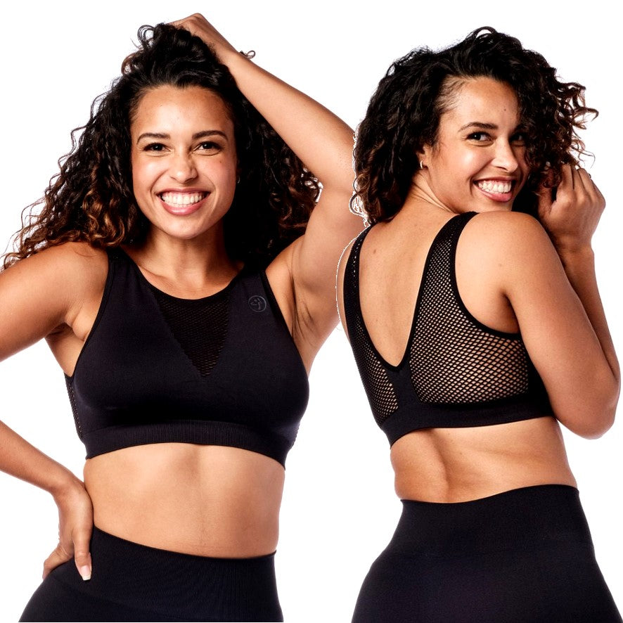 Don't Mesh With My Zumba Bra (size L - only 1 left)