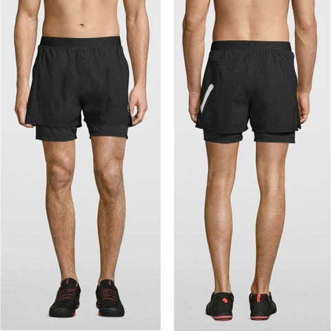 Double Layer Compression Shorts (Pre-Order)