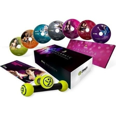 Exhilarate The Ultimate Zumba Fitness DVD Experience
