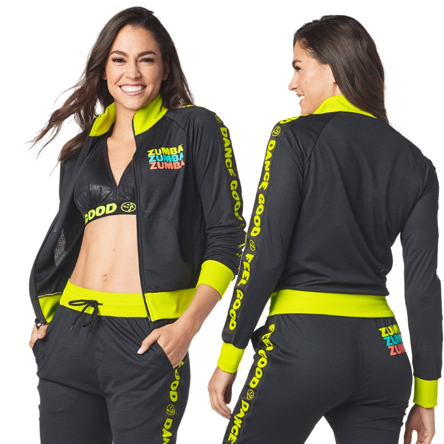 Feel Good Dance Good Track Jacket (sizes M, L, XL)