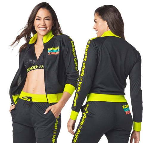 Feel Good Dance Good Track Jacket (sizes L, XL)