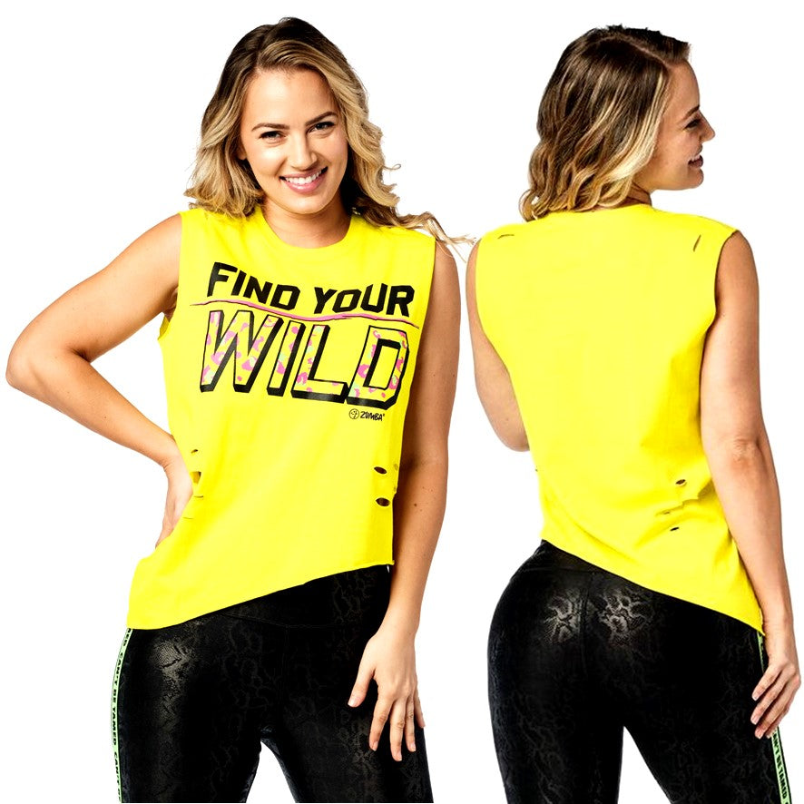 Find Your Wild Tank (size M/L)