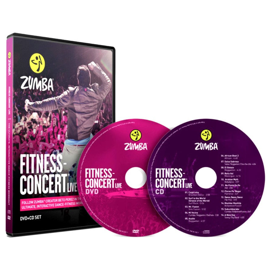 Fitness Concert Live - DVD/CD Set