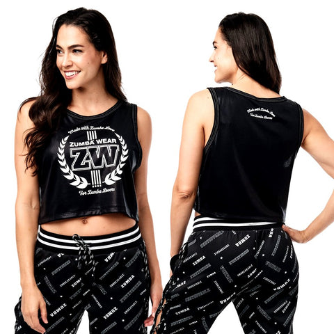 For Zumba Lovers Crop Tank